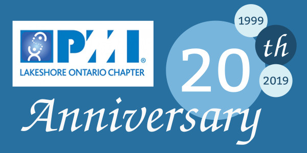 PMI Lakeshore Ontario Chapter 20th Anniversary
